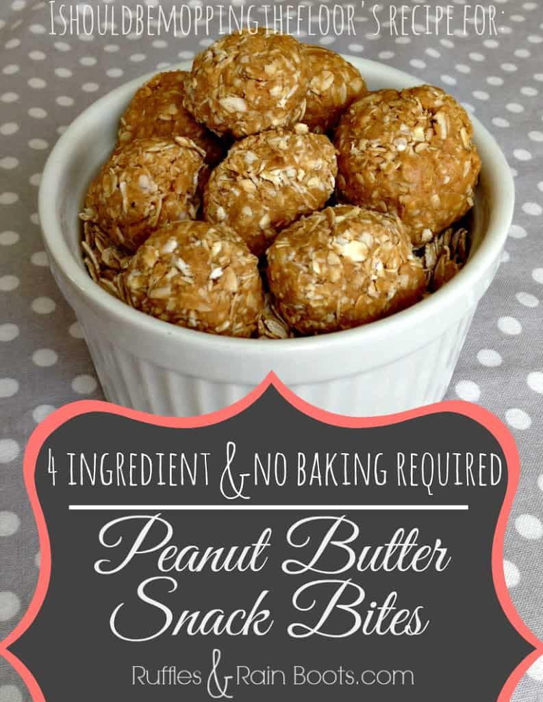 healthy snacks, no bake recipe, post workout snack, pre workout snack, peanut butter snack