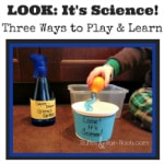 From Ruffles and Rain Boots: Science for Toddlers, great toddler movie, three science experiments for kids, dinosaur egg dig