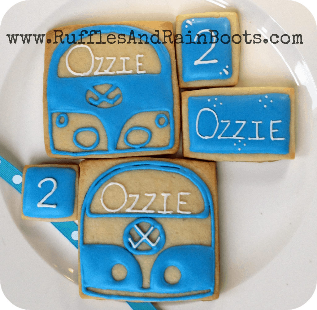 Cookies-for-a-Volkswagen-or-hippie-or-seventies-party