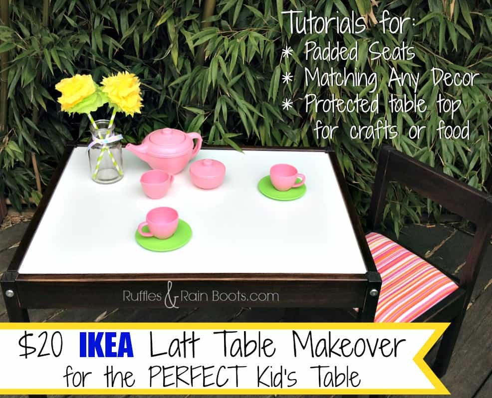Who would have thought this little Ikea Latt table makeover would become one of our most popular DIY tables? This easy tutorial will take you through the ... & Ikea LATT Table