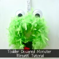 Monster Wreath Tutorial