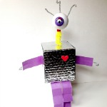 Recycled-Robot-Alien-Craft