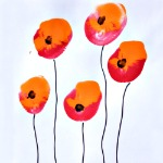 Poppy-Painting-With-Balloons-Craft-For-Kids