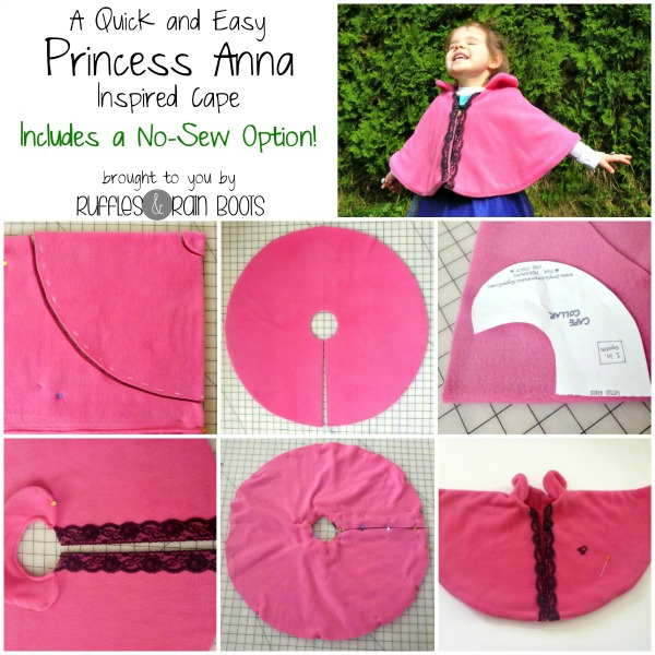 Easy Princess Anna Cape