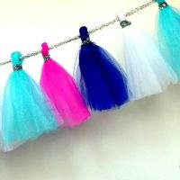 Tulle Garland