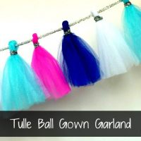 Tulle Ball Gown Garland