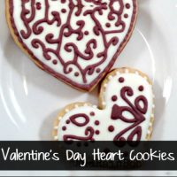 Valentines Day Cookies Hearts