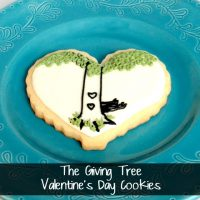 Valentine The Giving Tree Cookie Ideas