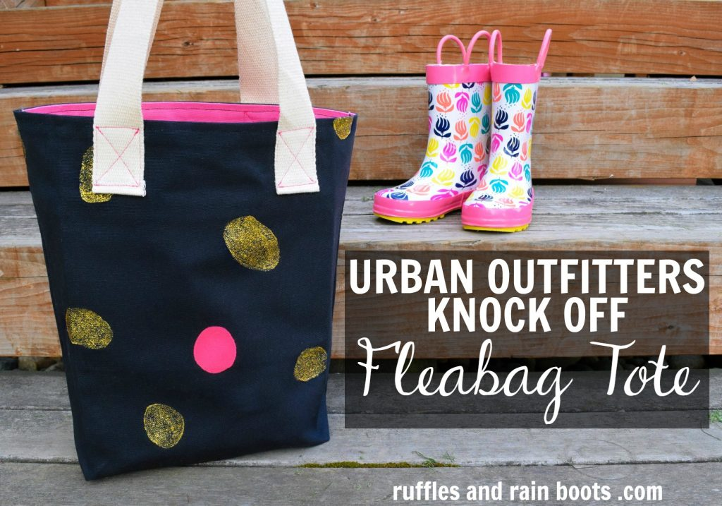 Urban Outfitters Knock Off Fleabag Tote