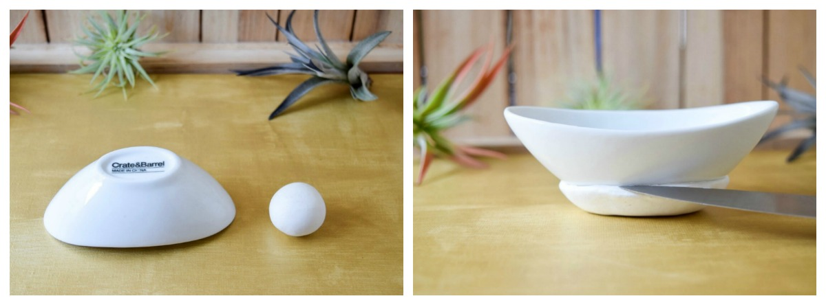 Polymer Clay Air Plant Hanging Planter