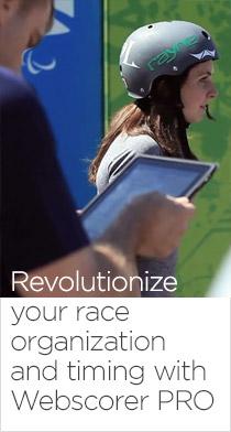 Webscorer Race Timer