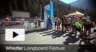Webscorer Whistler longboard video