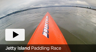 Jetty Island Paddling Race video