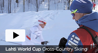 Lahti cross-country ski video