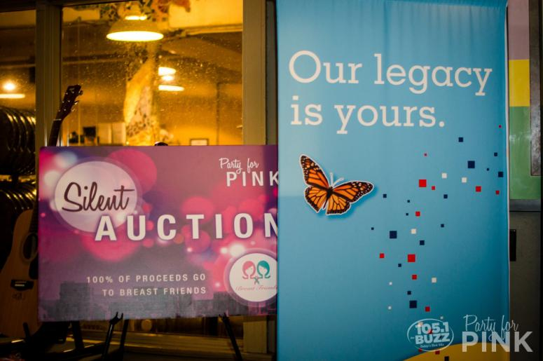 Party for Pink 2016 Silent Auction