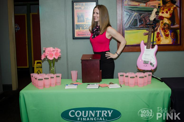 Party for Pink 2016 COUNTRY Financial