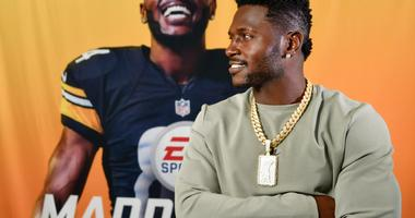 Steelers WR Brown gets Madden '19 cover