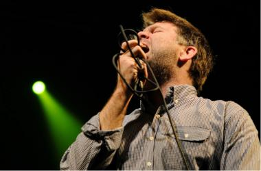 BARCELONA, SPAIN - NOV 6: LCD Soundsystem band performs at Razzmatazz on November 6, 2010 in Barcelona, Spain.