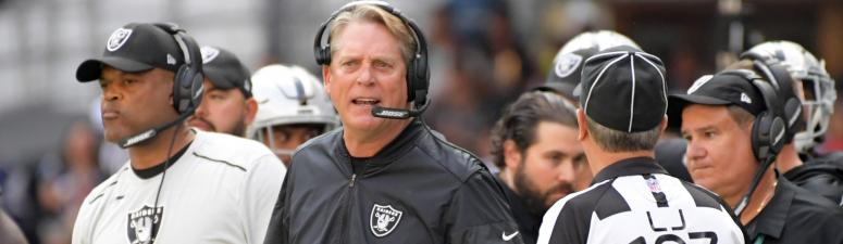 Jack Del Rio says he's to blame for the Raiders struggles