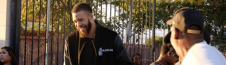VIDEO: JaVale McGee's 7th Annual Great Turkey Giveaway