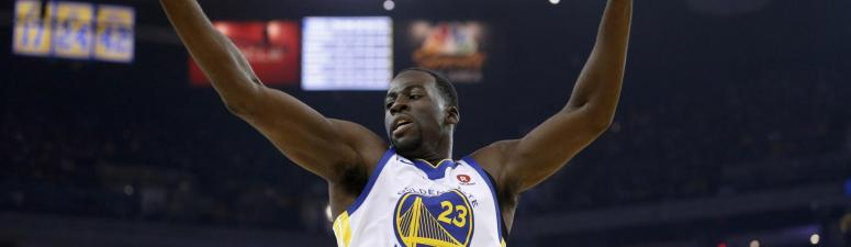 Draymond Green exits early in Warriors opening-night loss