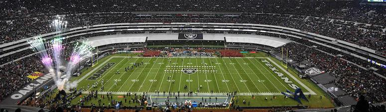 Romanowski expects strong turnout from Raider Nation in Mexico City