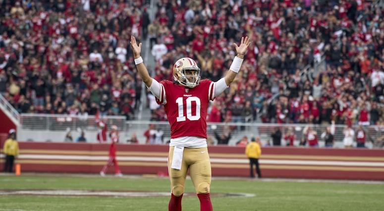 Tomlinson says the 49ers should 'absolutely' give Garoppolo a big payday