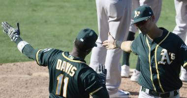 Athletics' offense spearheads comeback vs. Angels