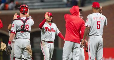 Phillies beat Giants behind Kelly's pinch-hit grand slam