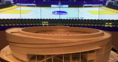 Welts says Chase Center construction is about 40% done