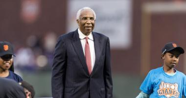 Giants put on legendary African American Heritage night featuring 3 HOFers