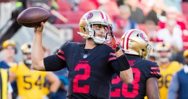 49ers fall to 0-3 after 4th-quarter comeback attempt comes up short