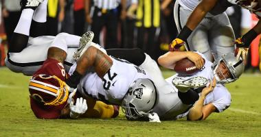 Townsend on Raiders slide: 'Something happened in Washington to this team'