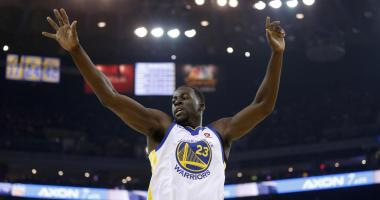 The only concern from Warriors' opening-night loss is Draymond's knee