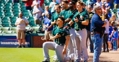A's release statement on Bruce Maxwell, 'disappointed' to hear about allegations