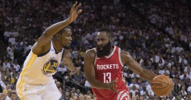 VIDEO: Warriors, Rockets react to wild night at Oracle in Houston's 122-121 in over Golden State