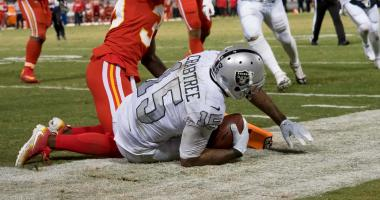VIDEO: Raiders react to thrilling 31-30 win over Chiefs