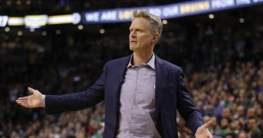Kerr says 'it would be nice' if Trump and LaVar stopped talking
