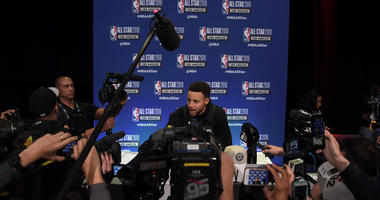 VIDEO: The best of All-Star Media Day in Los Angeles with the Warriors
