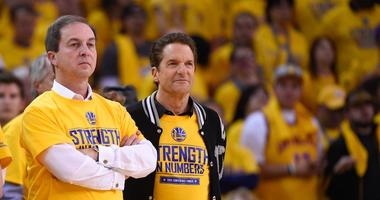 VIDEO: Warriors co-owner shuts down LaVar Ball question