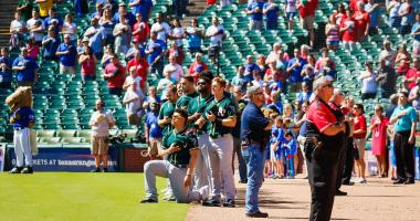 Athletics catcher Bruce Maxwell pleads not guilty