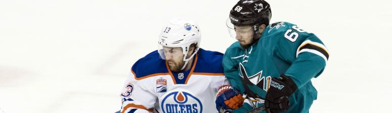 Sharks and Oilers
