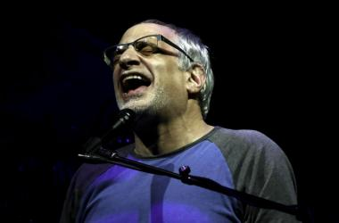 Steely Dan singer Donald Fagen performs at the Perfect Vodka Amphitheater