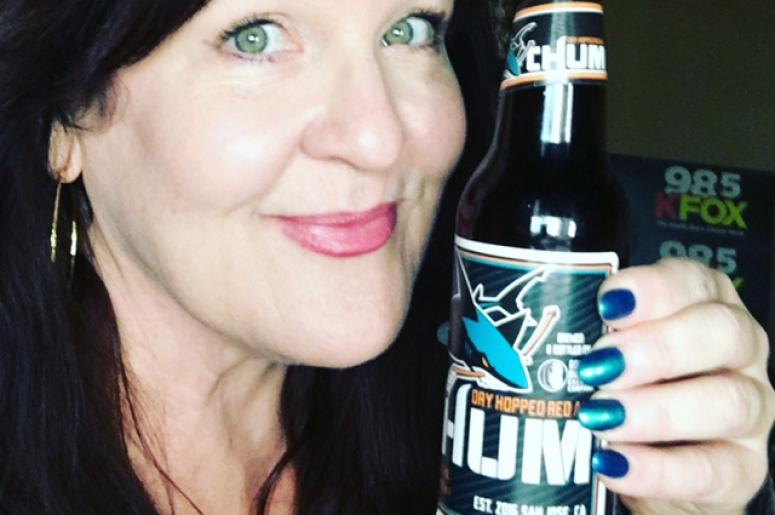 Teal Manicure + Chum Beer = Sharks Win!
