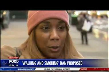 New York City Considers Making Walking and Smoking Illegal !!!!