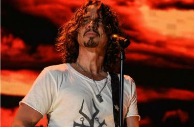 Chris Cornell of Audioslave and Soundgarden performs onstage