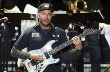 Tom Morello of Rage Against The Machine