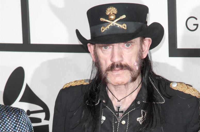 Members of the band Motorhead arrive at the 57th Annual Grammy Awards held at Staples Center at L.A. Live in Los Angeles