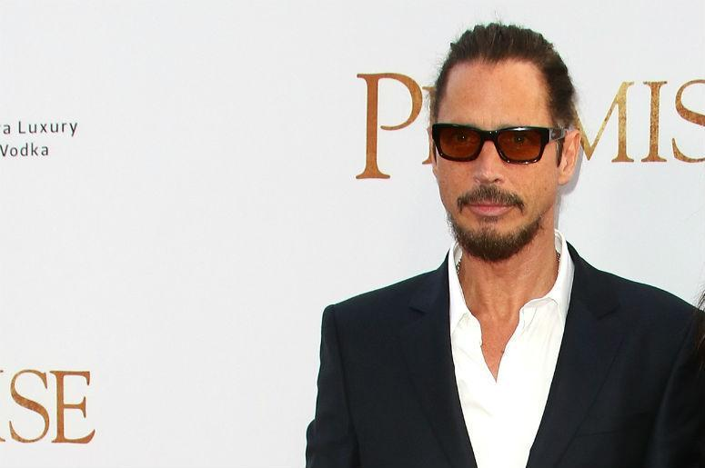 Chris Cornell of Soundgarden at The Promise premiere