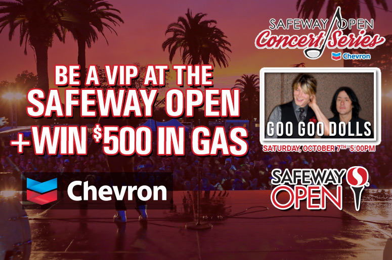 Chevron wants you to be a VIP at the Safeway Open + Win $500 in ...